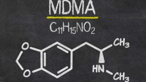 Molecular Structure of MDMA